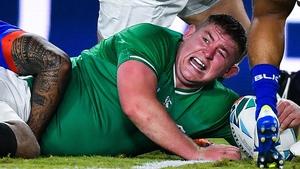 Tadhg Furlong suffered a calf injury last week