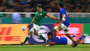 CJ Stander was all action in Fukuoka