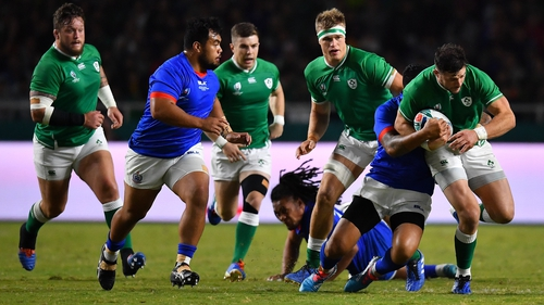 'I do believe this Irish team has a little bit more in the tank'
