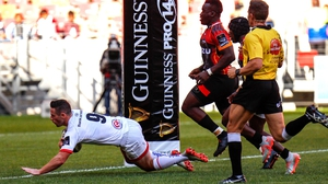 John Cooney bagged a brace of tries for Ulster