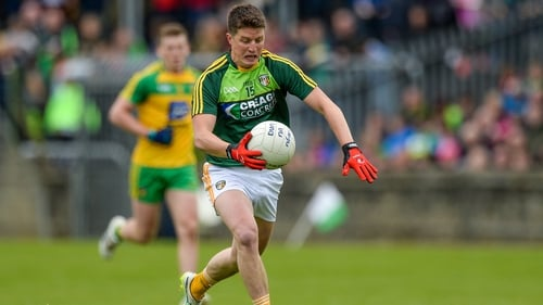 Former Antrim player Tomás McCann struck for an early goal for victors Cargin