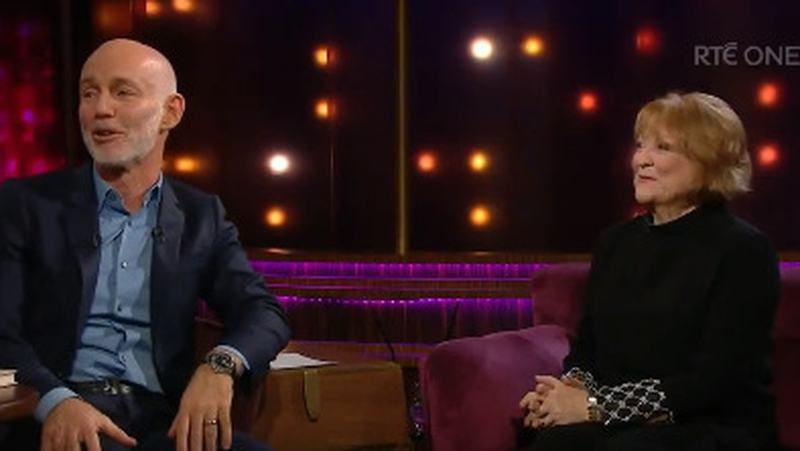Watch: Ray D'Arcy audience send Gay Byrne good wishes