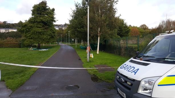 Cork murder scene