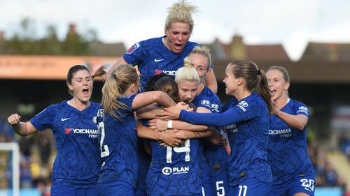 Chelsea turned over the Gunners