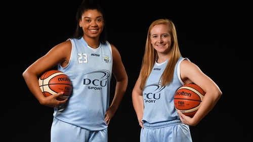 Meredith Burkhall and Ashely Russell of DCU Mercy