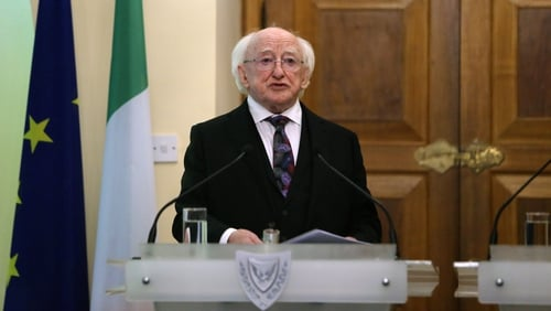 President Michael D Higgins is on the third day of his State visit to the Mediterranean island