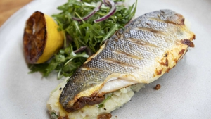Spiced Sea Bass with Buttered Potatoes