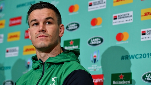Johnny Sexton is the new Ireland captain