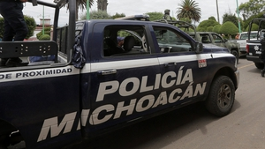 The state police of Michoacan, Mexico, were responding to a call