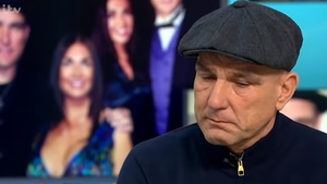 An emotional Vinnie Jones opened up about his wife's death Screengrab: Good Morning Britain/ITV
