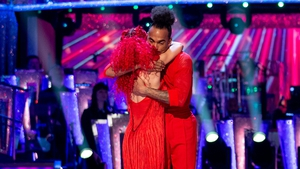 "Dev Griffin with professional dance partner Dianne Buswell - ""When I woke up that day I didn't think I would be in the bottom two"""