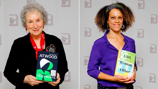 Margaret Atwood, Bernardine Evaristo win Booker Prize