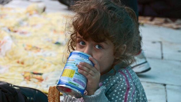 '1 in 3 children under 5 undernourished or overweight'