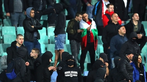 Nazi salutes and racist chanting from Bulgarian fans England's 6-0 win in Sofia
