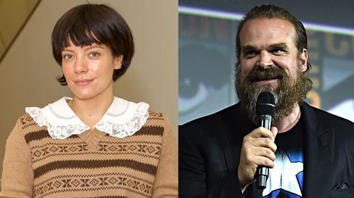 Lily Allen dating actor David Harbour