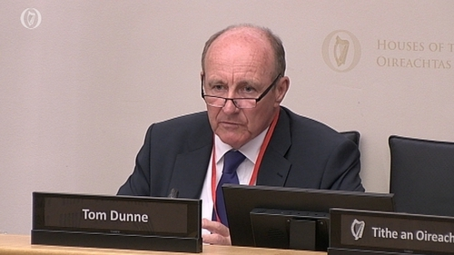 Tom Dunne, chairman designate of the RTB, was speaking to the Oireachtas Housing Committee