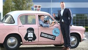 Bernard Broderick, director of Brodericks and Peter Bough, Aldi Ireland Buying Director