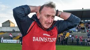 Padraig Pearses manager Pat Flanagan