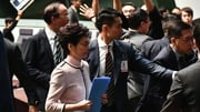 Carrie Lam leaves the chamber for the second time while trying to give her annual policy address
