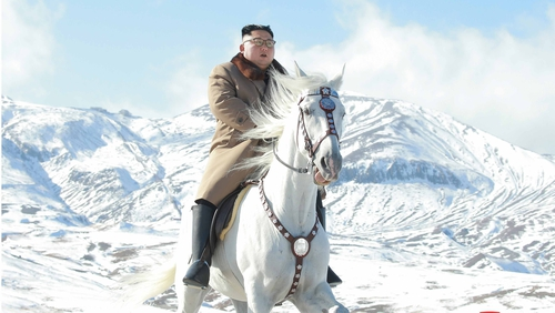 'In the past, Kim has climbed Mount Paektu ahead of major political decisions'