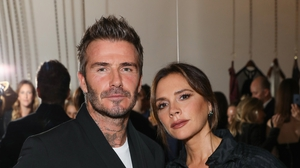 """Victoria Beckham: """"We support each other and, you know, we're very lucky to have found each other and lucky that we're growing together.''"""
