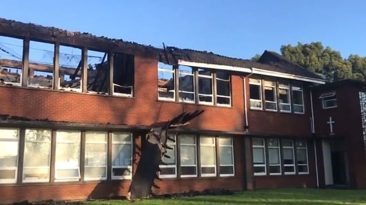 Fire causes major damage at Dublin school