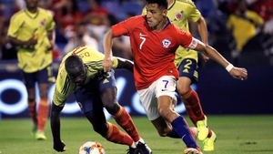 Alexis Sanchez sustained his injury in Chile's 0-0 draw against Colombia in a friendly on Saturday