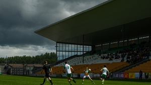 Offaly in action against London in the All-Ireland SFC Championship qualifier last June