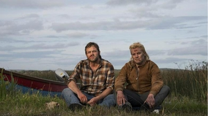 Moe Dunford and Peter Coonan Dark Lies the Island