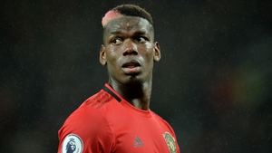 Paul Pogba has missed four of United's last seven matches