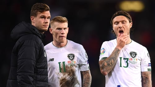 Down but not out, Ireland must seek solutions before Denmark visit next month