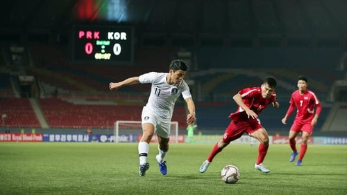 The sides finished scoreless in Pyongyang