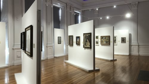 The gallery is opening with an exhibition of 47 paintings, entitled Aspects: Highlights from the Waterford Art Collection