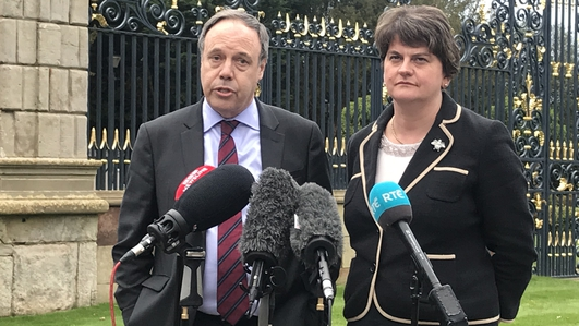 Foster confirms DUP's ten MPs will oppose Brexit deal
