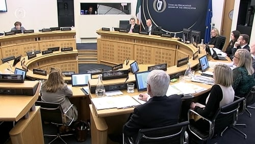 Caranua CEO Rachel Downes was speaking to the Public Accounts Committee