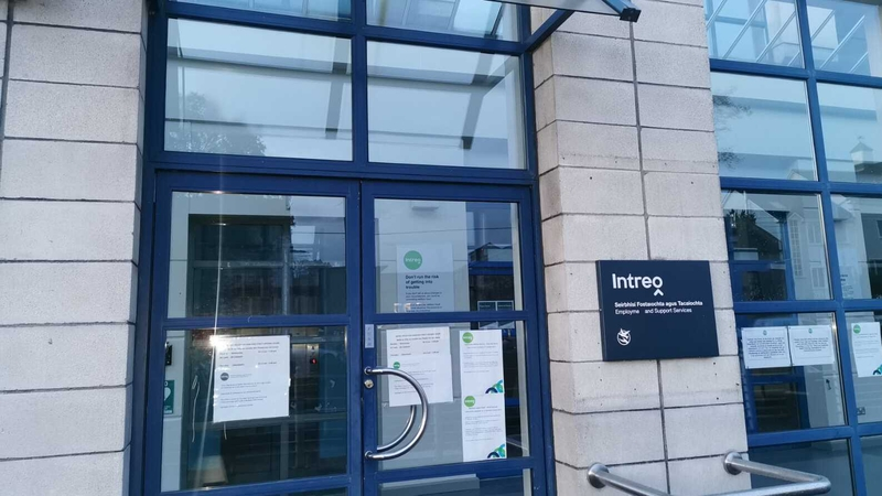 Garda appeal over 'offensive' sign at Intreo centre