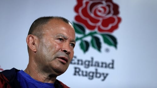 Eddie Jones has accepted a 25% pay cut for the duration of the coronavirus shutdown