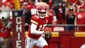 Patrick Mahomes' 8.3 yards per pass attempt during the regular season was the third-highest among NFL quarterbacks
