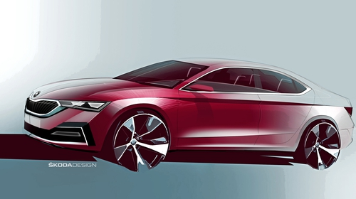 The new Octavia shares many components with the new VW Golf