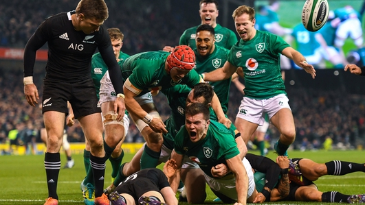 How the Irish rugby team will prepare for the All-Blacks