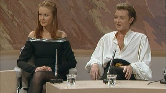 Jean Butler and Michael Flatley.