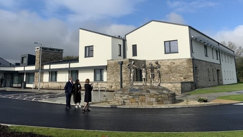 The 14-bed hospice was constructed over the last two years