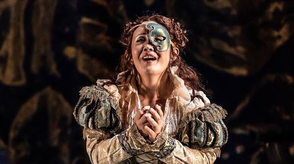 Yasko Sato in the Wexford Festival Opera production of 'Il bravo' (Pic: Clive Barda)
