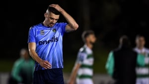 UCD's Richie O'Farrell after his team's relegation was confirmed