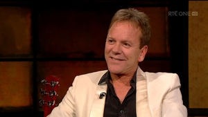 Kiefer Sutherland on The Late Late Show