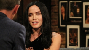 Andrea Corr on Friday night's Late Late Show