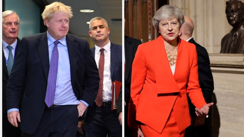 A report says only there are two minor changes between Boris Johnson's and Theresa May's deals