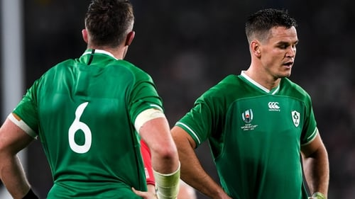Peter O'Mahony and Johnny Sexton could do nothing to stop the black tide