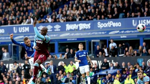Gylfi Sigurdsson fires home Everton's second