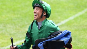 Frankie Dettori partnered Dubai Warrior to victory at Lingfield.